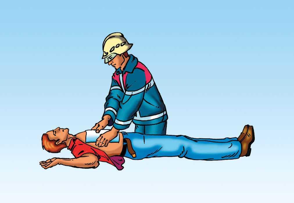 Первая помощь при ожогах дыхательных путей