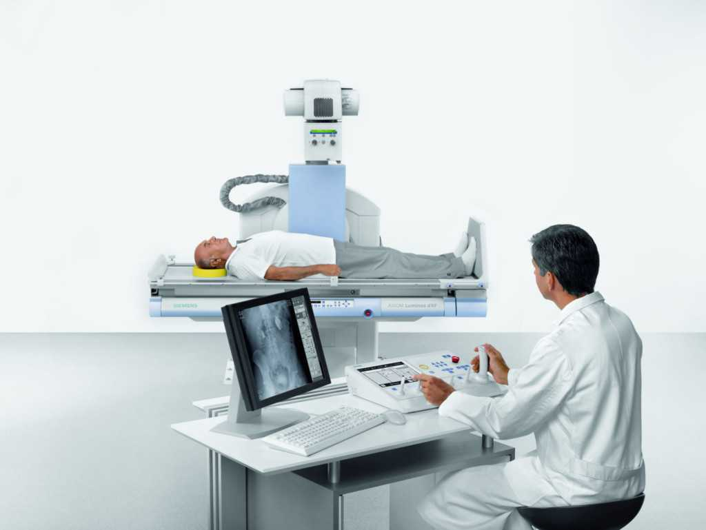 Multitalented Axiom Luminos dRF from Siemens combines fluoroscopy and radiography in a single system