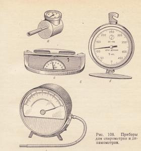 Сухой спирометр