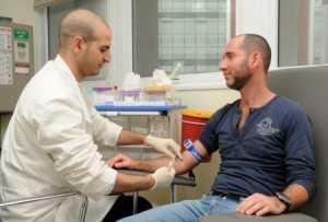 Взятие крови на ПСА