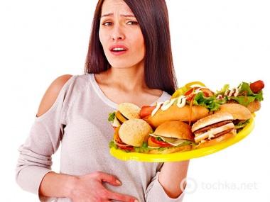 после еды неприятный запах изо рта