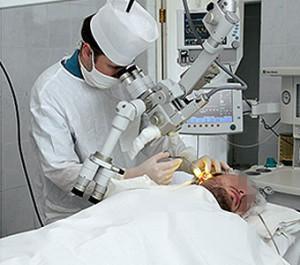 Операция на барабанной перепонке