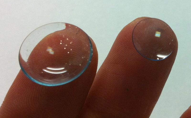Склеральная и роговичная контактные линзы