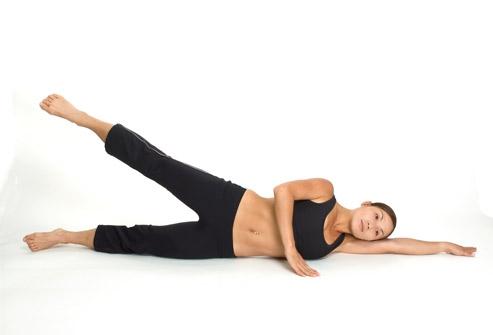 Упражнения на боку в лечении спаечной болезни брюшной полости