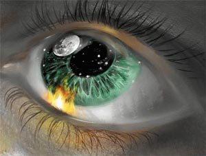 В глаз что-то попало - чито делать, как вытащить соринку из глаза?