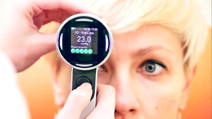 Тонометр для измерения внутриглазного давления
