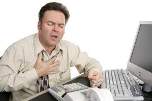 Признаки и симптомы инфаркта миокарда