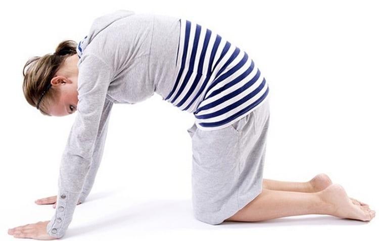Лечение симфизита у беременных - упражнения