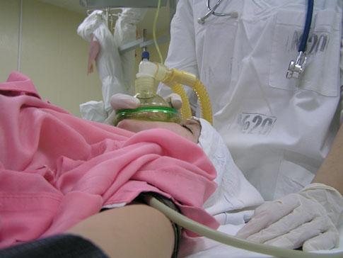 Эндотрахеальный наркоз при кесаревом сечении