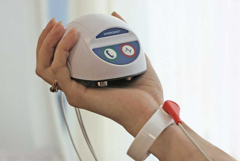 Карманный портативный кардиограф