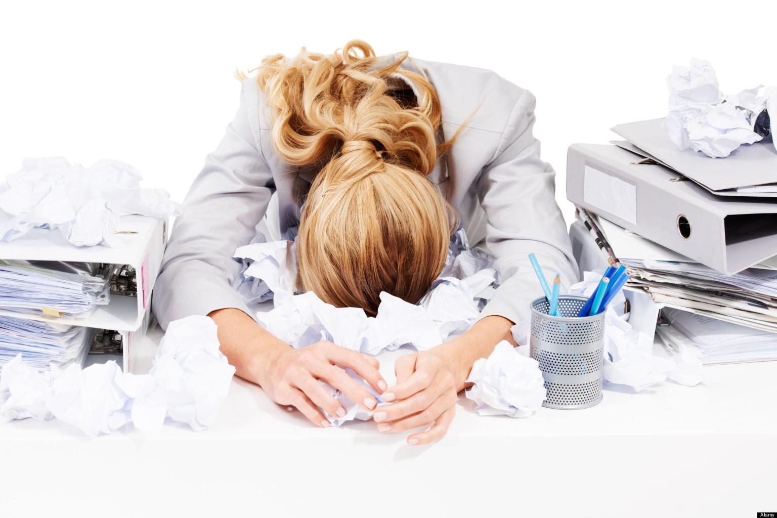 Стресс приводит к выкидышу