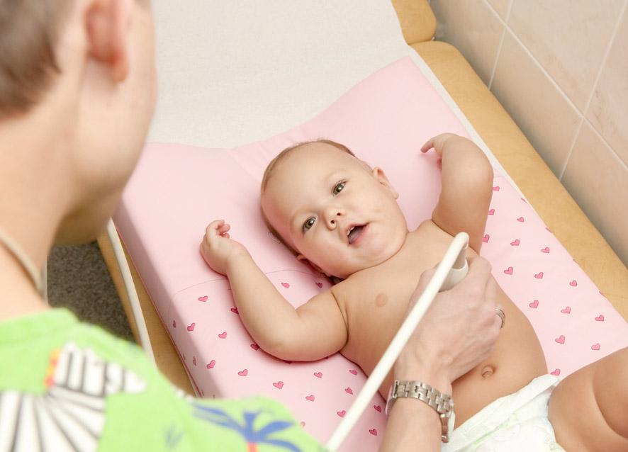 УЗИ в детском возрасте - органы брюшной полости