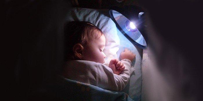 Лечение детей синей лампой