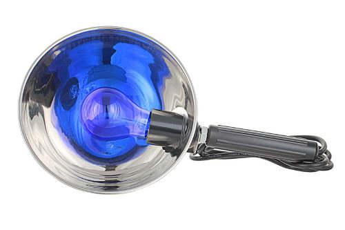 Рефлектор Минина, или синяя лампа для прогревания в домашних условиях