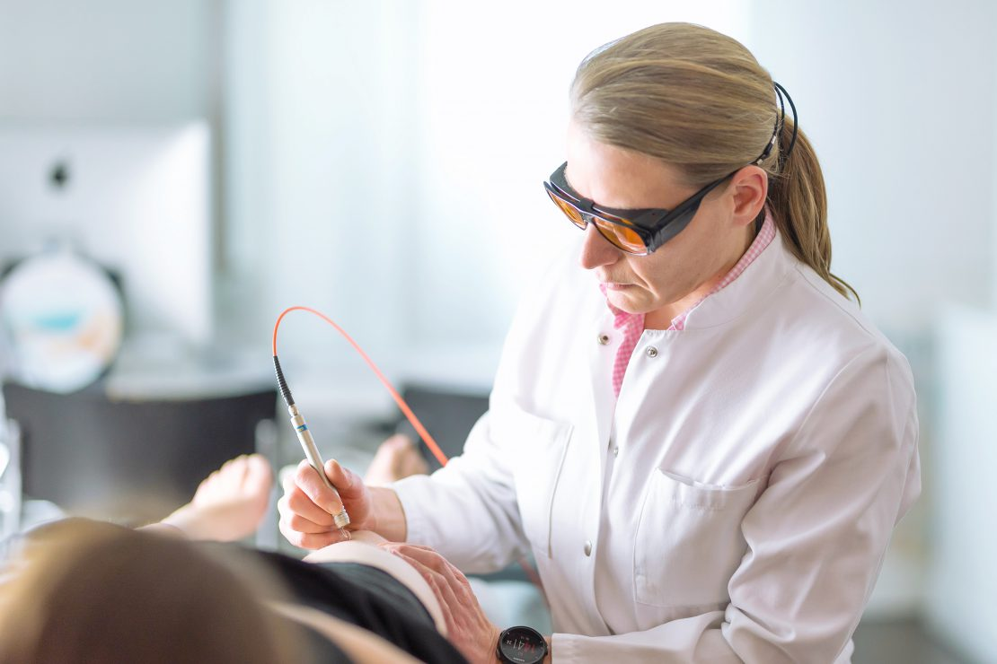 Лазерная хирургия рака кожи