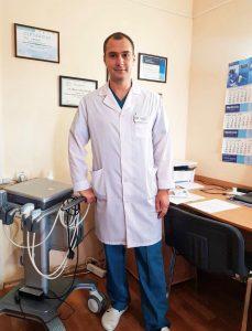 Кравченко Борис Сергеевич, хирург, врач ультразвуковой диагностики